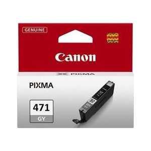 Картридж Canon CLI-471GY (0404C001) canon картридж cli 471gy серый серый картридж струйный повышенная нет