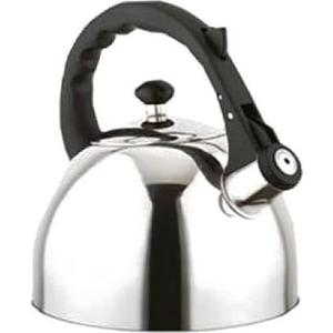 Чайник металический со свистком 3 л Bekker (BK-S583) чайник металлический 2 6л deluxe bekker bk 404s