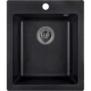 Мойка кухонная Weissgauff QUADRO 420 Eco Granit светло-бежевый  цена и фото