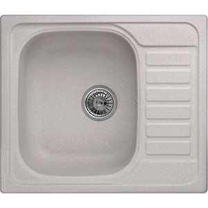 Мойка кухонная Weissgauff QUADRO 575 Eco Granit серый шелк  weissgauff quadro 575 eco granit серый беж