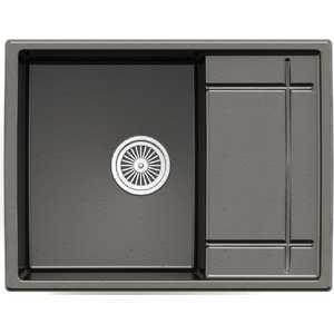 Мойка кухонная Weissgauff QUADRO 650 Eco Granit черный  weissgauff quadro 420 eco granit песочный