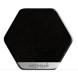 Смеситель для кухни Weissgauff Gemma granit R черный  цена и фото