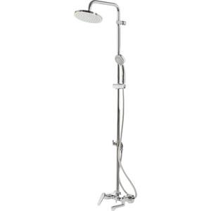 Душевой набор Vidima Баланс душевой комплект, верхний душ d200 мм (BA270AA) шланг душевой argo agd 22 122c 200 d 200 1bl 20 24