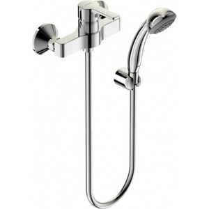Смеситель для душа Vidima Уно с душевым гарнитуром (BA237AA) смеситель для ванны kludi balance с душевым гарнитуром напольный 525900575