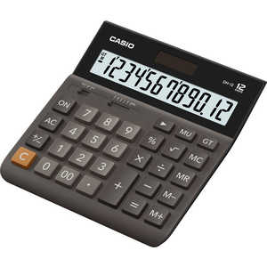 Калькулятор Casio DH-12 коричневый/черный casio dh 12