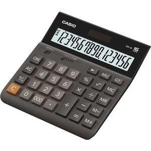 Калькулятор Casio DH-16 коричневый/черный калькулятор casio dh 12 коричневый черный