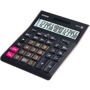 Калькулятор Casio GR-16 черный