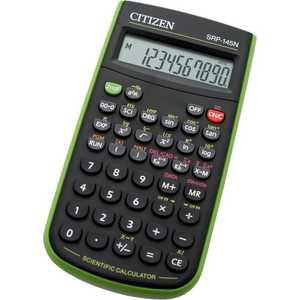 Калькулятор Citizen SRP-145NGR черный