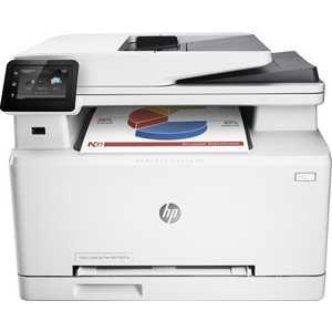 Фотография товара мФУ HP Color LaserJet Pro M274n (M6D61A) (464016)