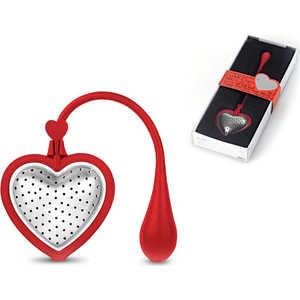 Ситечко для чая AdHoc Tea Heart red красное (010.050400.101)