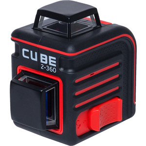 Построитель лазерных плоскостей ADA Cube 2-360 Basic Edition shengshou cube 2 x 2 x 2 mini cube black base fun educational toy