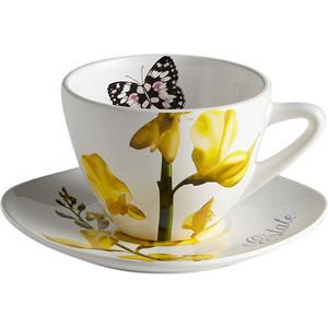 Чашка с блюдцем Ceramiche Viva Лето (CV2-4304-AL)