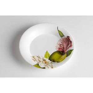 Тарелка суповая Ceramiche Viva Яблоки и камелии (CV2-4822.2-AL)