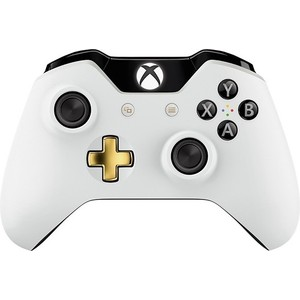 Геймпад Microsoft XBox One wireless controller Lunar white (GK4-00019)