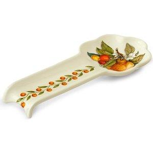 Подставка для ложки Nuova Cer Итальянские фрукты (NC3673-CEM-AL) столовая посуда nuova cer чайник итальянские фрукты nc7360 cem al