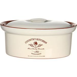 Кастрюля с крышкой Terracotta Кухня в стиле Кантри (TLY083-1-CK-AL)
