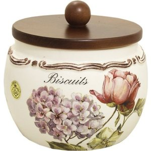 Банка для сыпучих продуктов LCS Сады Флоренции (LCS011-BO-AL) банка для сыпучих продуктов чай lcs натюрморт lcs670pltv al