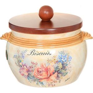 Банка для сыпучих продуктов LCS Элианто (LCS670GL-EL-AL) ваза для цветов lcs элианто цвет бежевый коричневый 30 см