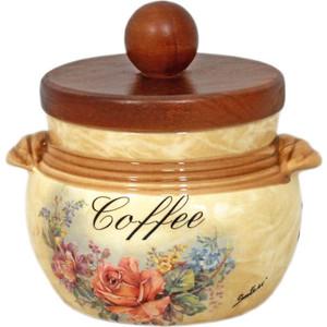 Банка для сыпучих продуктов (кофе) LCS Элианто (LCS670PLC-EL-AL) банка для сыпучих продуктов lcs старая тоскана кофе