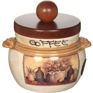 Банка для сыпучих продуктов (кофе) LCS Натюрморт (LCS670PLCV-AL) банка для сыпучих продуктов lcs старая тоскана кофе
