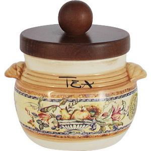 Банка для сыпучих продуктов (чай) LCS Старая Тоскана (LCS670PLT-OT-AL) банка для сыпучих продуктов чай lcs старая тоскана lcs670plt ot al