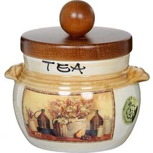 Банка для сыпучих продуктов (чай) LCS Натюрморт (LCS670PLTV-AL) пион пион чай 1 10 красивых подарочных коробок защиты продуктов экологического происхождения огрех красота здоровье чай 30г
