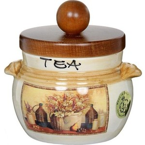 цена на Банка для сыпучих продуктов (чай) LCS Натюрморт (LCS670PLTV-AL)