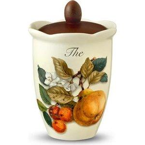 Банка для сыпучих продуктов (чай) Nuova Cer Итальянские фрукты (NC7370_7-CEM-AL)