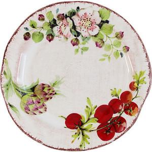Тарелка обеденная LCS Овощное ассорти (LCS1372-VE-AL)