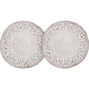 Набор из 2 десертных тарелок LCS Медичи (LCS253F-ME-AL)