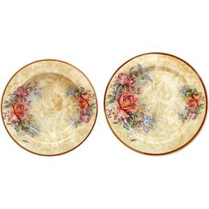 все цены на Набор из 2 тарелок суповая и обеденная LCS Элианто (LCS353-EL-AL)