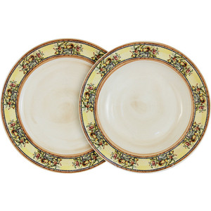 Набор из 2 тарелок суповая и обеденная LCS Старая Тоскана (LCS353-OT-AL)