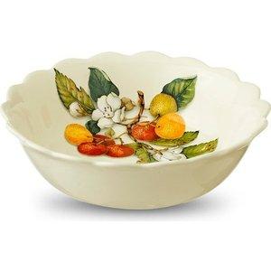 Тарелка суповая Nuova Cer Итальянские фрукты (NC7410_3_1-CEM-AL) столовая посуда nuova cer чайник итальянские фрукты nc7360 cem al