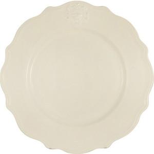 Тарелка обеденная кремовая Nuova Cer Аральдо (NC8310_2-AVR-AL)