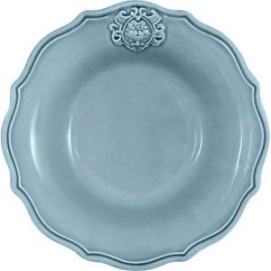 Тарелка суповая голубая Nuova Cer Аральдо (NC8310_3-CRZ-AL)