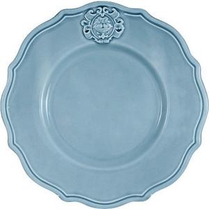 Тарелка закусочная голубая Nuova Cer Аральдо (NC8310_4-CRZ-AL)