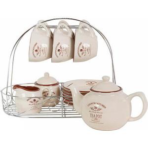 Чайный набор из 15 предметов на 6 персон Terracotta Кухня в стиле Кантри (TLY-HD0015-CK-AL)