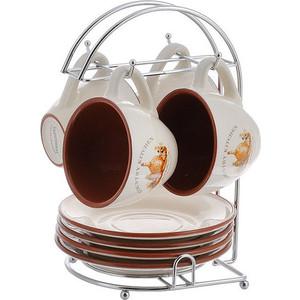 Чайный набор из 9 предметов на 4 персоны Terracotta Сардиния (TLY314-BT-AL) terracotta набор для специй на подставке сардиния