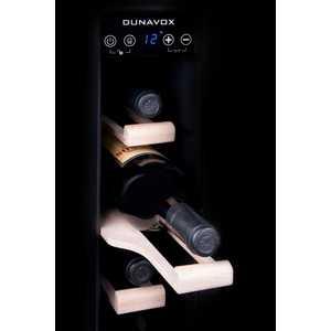 Фотография товара винный шкаф Dunavox DX-7.22BK (466508)