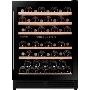 Винный шкаф Dunavox DX-51.150DBK/DP винный шкаф dunavox dx 19 58bk dp