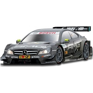 Машинка Bburago Ралли DTM-Mercedes AMG C-Coupe (Jamie Green) металл (18-41154)