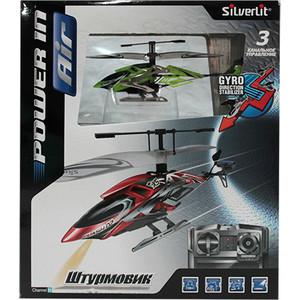 Вертолёт Silverlit 3-х канальный Штурмовик на ИК (84700) вертолёт silverlit 4 х канальный феникс ик 84730s