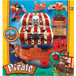 Игровой набор Keenway Приключение пиратов. Битва за остров (10754) цена и фото