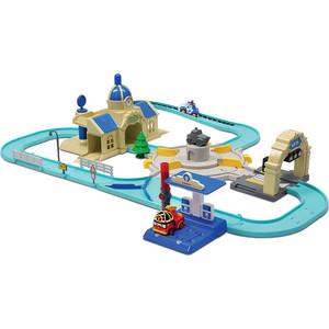 Игровой набор Poli Мега трек с 2мя Умными машинками (83283) poli игровой набор мойка