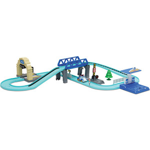 Игровой набор Poli Средний трек с Умной машинкой (83282) poli игровой набор мойка