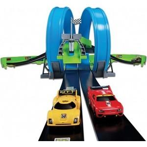 Игровой набор Bburago Трасса с 2-мя Треками и 2-мя инерционными машинами (18-30262)