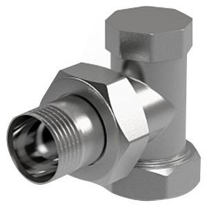 Вентиль ROYAL Thermo на обратную подводку угловой 3/4 (RTO 50006) клапан royal thermo optimal обратный 2 rto 07037
