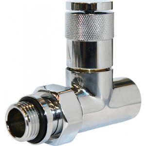 Вентиль ROYAL Thermo ручной регулировки прямой PIANO (хром) 1/2'' (RTE 50021)