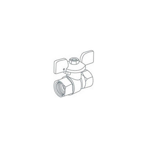 Кран ROYAL Thermo шаровый газовый GAS 3/4 ВР (RTE04002) кран шаровый royal thermo expert 3 4 нв стальной рычаг