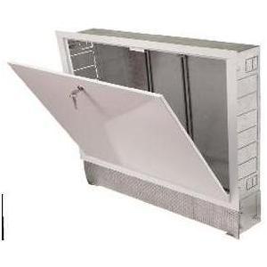 Коллекторный шкаф ROYAL Thermo встроенный 670x125x894 (ШРВ-4) расходомер royal thermo коллекторный rto 52020